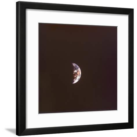 The Earth from Space, 1968--Framed Art Print