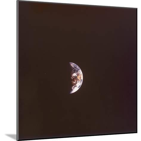 The Earth from Space, 1968--Mounted Photographic Print