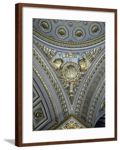 Detail of a Pendentive in a Cupola, Galerie Des Batailles, Chateau De Versailles, France--Framed Art Print