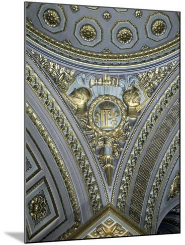 Detail of a Pendentive in a Cupola, Galerie Des Batailles, Chateau De Versailles, France--Mounted Photographic Print