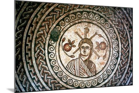 Roundel from a Roman Villa, St Mary, Dorset, 4th Century Ad--Mounted Photographic Print