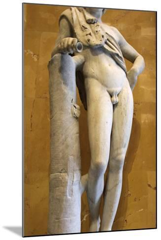 Statue of a Resting Satyr-Praxiteles Praxiteles-Mounted Photographic Print