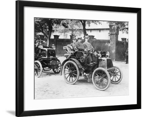 1900 Panhard, (1900s)--Framed Art Print