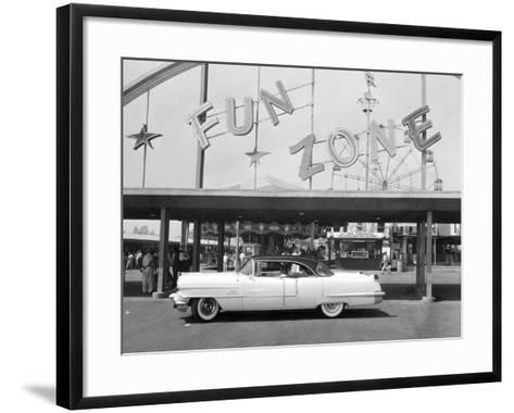 1956 Cadillac Sedan, USA, (C1956)--Framed Art Print