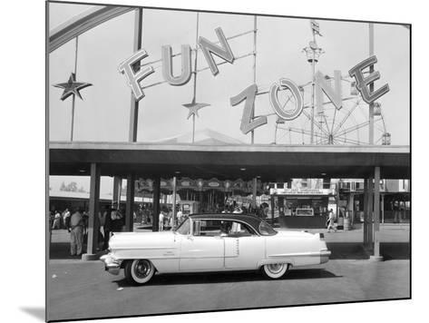 1956 Cadillac Sedan, USA, (C1956)--Mounted Photographic Print