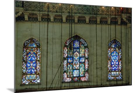 Stained Glass Window, Suleymaniye Mosque, 1557--Mounted Photographic Print
