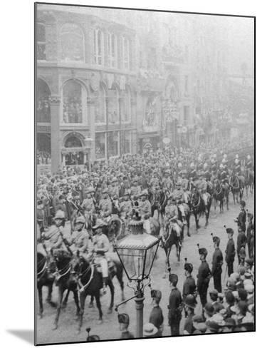 Procession for Queen Victoria's Diamond Jubilee, 1897--Mounted Photographic Print