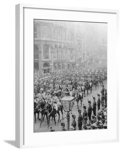 Procession for Queen Victoria's Diamond Jubilee, 1897--Framed Art Print