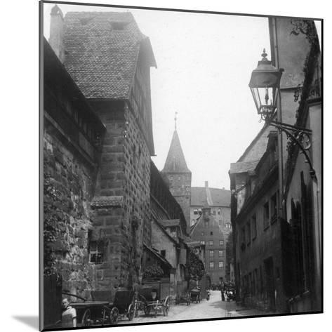 The Tiergartnertor, Nuremberg, Germany, C1900s-Wurthle & Sons-Mounted Photographic Print