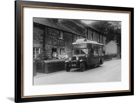 1933 Bedford 2 Ton Wlg Truck Used as a Travelling Shop, C1933--Framed Art Print