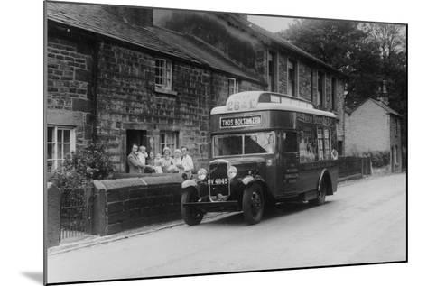 1933 Bedford 2 Ton Wlg Truck Used as a Travelling Shop, C1933--Mounted Photographic Print