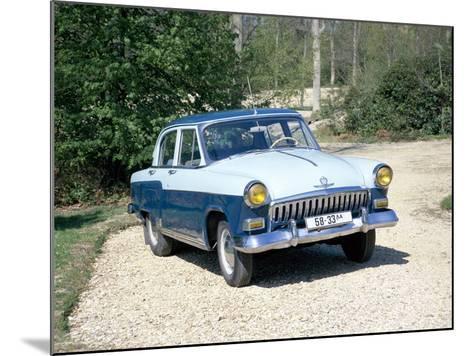 A 1960 Volga--Mounted Photographic Print