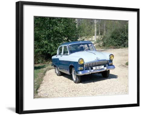A 1960 Volga--Framed Art Print