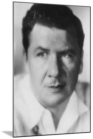 George Bancroft (1882-195), American Actor, 20th Century--Mounted Photographic Print