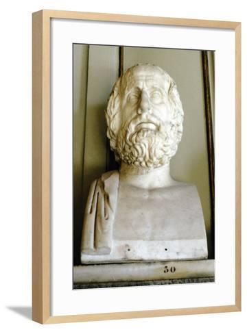 Euripedes, Ancient Greek Tragedian--Framed Art Print
