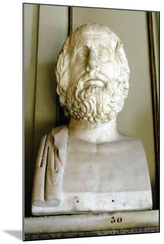 Euripedes, Ancient Greek Tragedian--Mounted Photographic Print