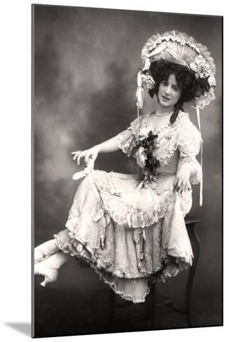 Fanny Dango (1878-197), Singer and Dancer, Early 20th Century-Foulsham and Banfield-Mounted Photographic Print