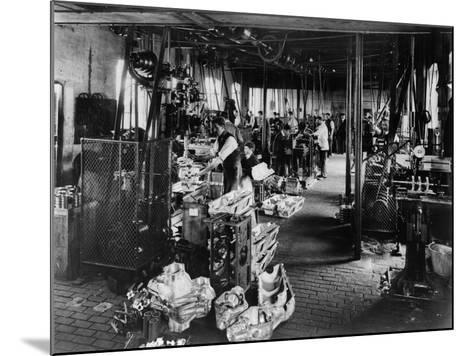 Interior of the Iris Works, Willesden, London, C1907--Mounted Photographic Print