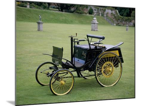 An 1894 Benz Velo--Mounted Photographic Print