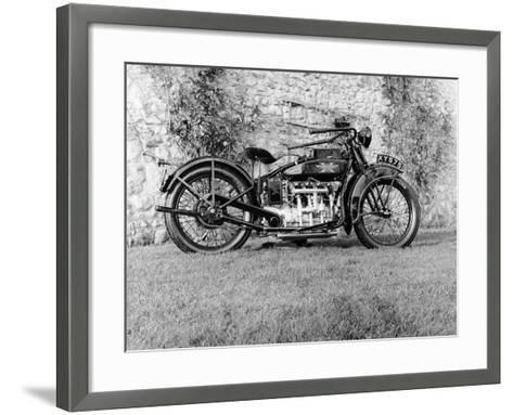 1924 Henderson Motobike--Framed Art Print