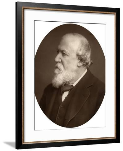 Portrait of a Bearded Man, Early 20th Century--Framed Art Print