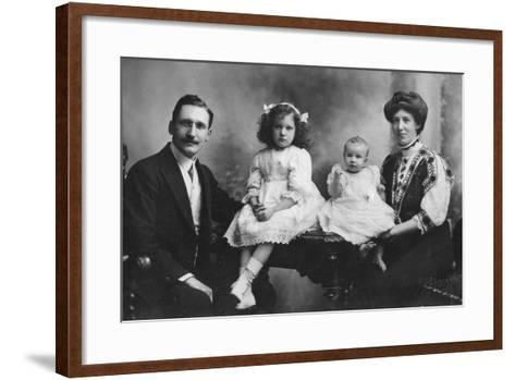 Family Portrait, C1900s-C1910S--Framed Art Print