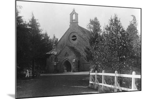 St Hugh's Church, Chakrata, India, 1917--Mounted Photographic Print