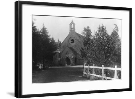 St Hugh's Church, Chakrata, India, 1917--Framed Art Print