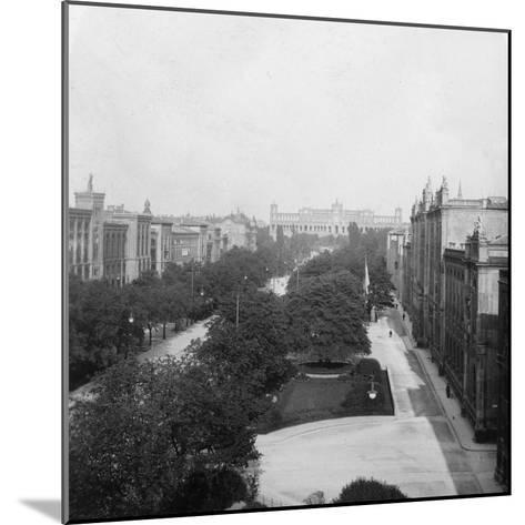 Maximilianstrasse, Munich, Germany, C1900s-Wurthle & Sons-Mounted Photographic Print