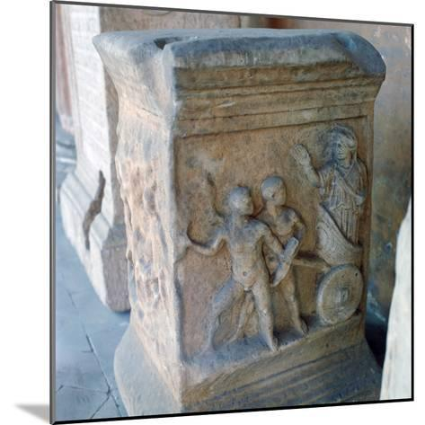 Roman Marble Carving--Mounted Photographic Print
