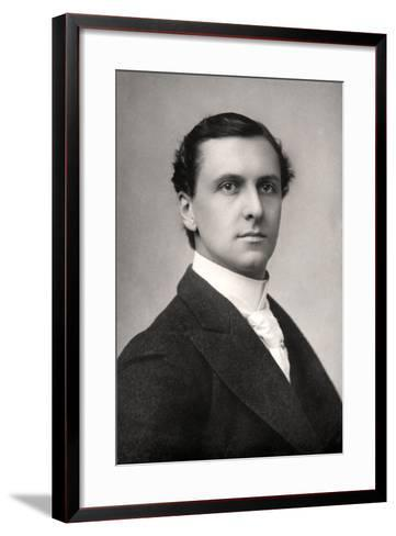 Charles Hayden Coffin (1862-193), English Actor and Singer, Early 20th Century--Framed Art Print
