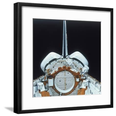 Space Shuttle Astronaut on Eva, 1980S--Framed Art Print