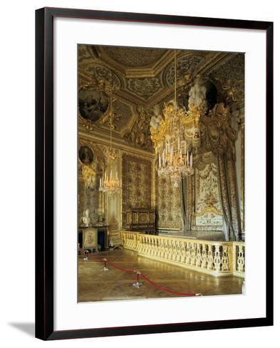 The Queen's Bedchamber, the Queen's Suite (Grand Appartement De La Rein)--Framed Art Print