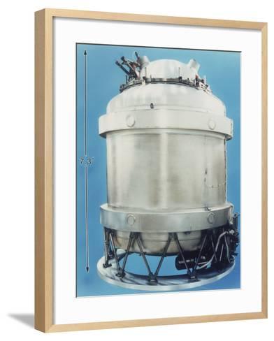 Cryostat for Cobe Satellite, 1989, Usa--Framed Art Print