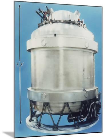 Cryostat for Cobe Satellite, 1989, Usa--Mounted Photographic Print