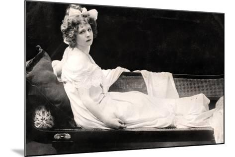 Mabel Love (1874-195), English Actress and Dancer, Early 20th Century--Mounted Photographic Print