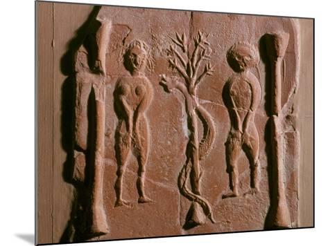 Adam and Eve, Tunisia, 5th Century--Mounted Photographic Print