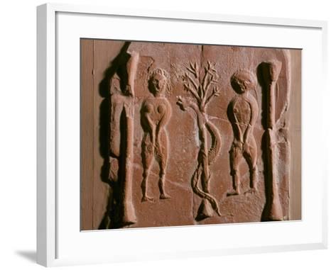 Adam and Eve, Tunisia, 5th Century--Framed Art Print