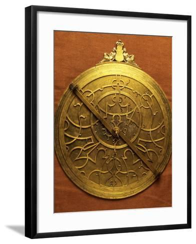 Astrolabe, Second Half of the 16th Century-Gualterus Arsenius-Framed Art Print