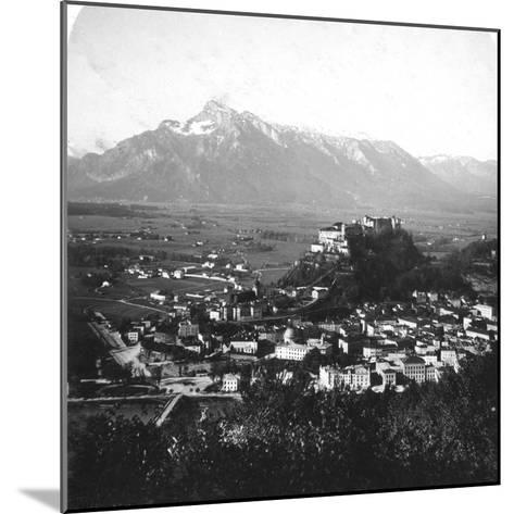 The Kapuzinerberg, Salzburg, Austria, C1900-Wurthle & Sons-Mounted Photographic Print
