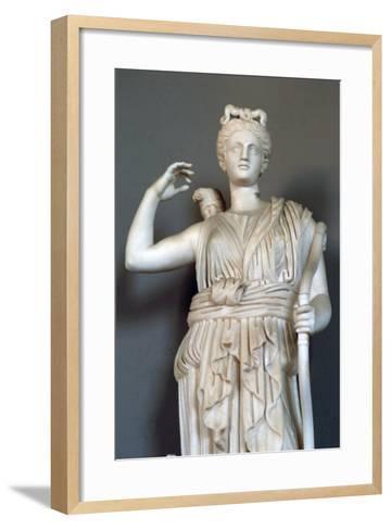 Diana, (Detail), Goddess of Hunting, Vatican Museum--Framed Art Print