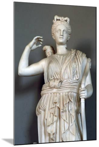 Diana, (Detail), Goddess of Hunting, Vatican Museum--Mounted Photographic Print