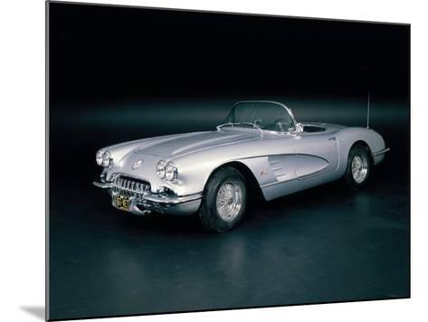 A 1963 Chevrolet Corvette--Mounted Photographic Print