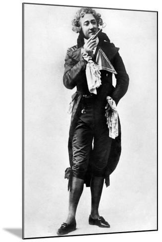 Fred Terry (1863-193), English Actor, 1906- Ellis & Walery-Mounted Photographic Print