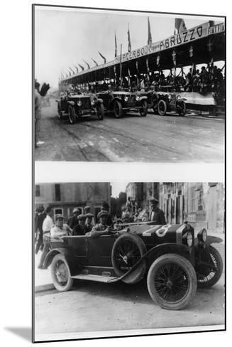 The Targa Abruzzo Race, Pescara, Italy, 1926--Mounted Photographic Print