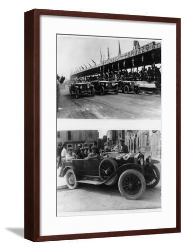 The Targa Abruzzo Race, Pescara, Italy, 1926--Framed Art Print