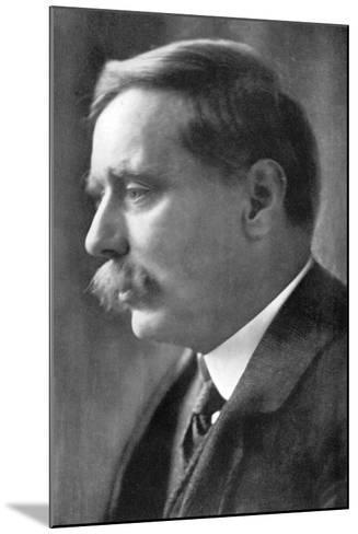 Herbert George Wells, British Novelist, 1914-Emil Otto Hoppe-Mounted Photographic Print