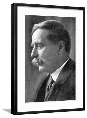 Herbert George Wells, British Novelist, 1914-Emil Otto Hoppe-Framed Art Print