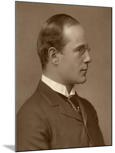 Richard Mansfield, British Actor-Manager, 1888-Elliott & Fry-Mounted Photographic Print