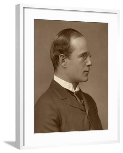 Richard Mansfield, British Actor-Manager, 1888-Elliott & Fry-Framed Art Print